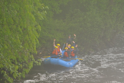 Anne and David, Concord River Rafting, May 20, 2018